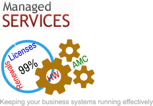 99% Renewals Licenses AMC HW Keeping your business systems running effectively