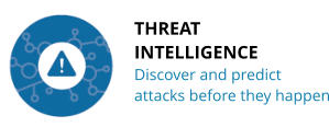 THREAT INTELLIGENCE Discover and predict attacks before they happen